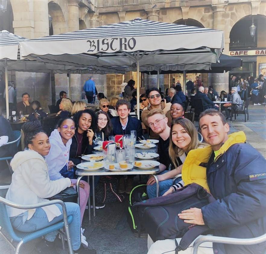Etudiants de l'UA à Burgos, Espagne 2019
