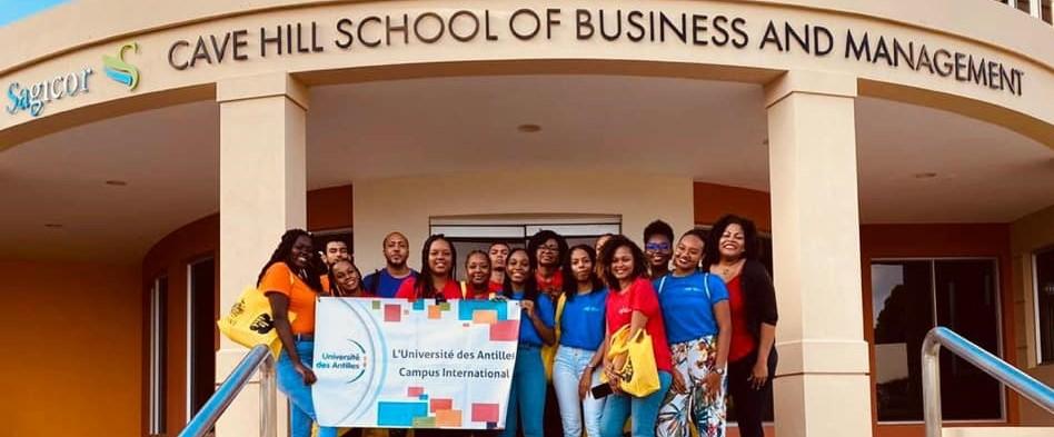 Etudiants de l'UA en stage linguistique à Barbade