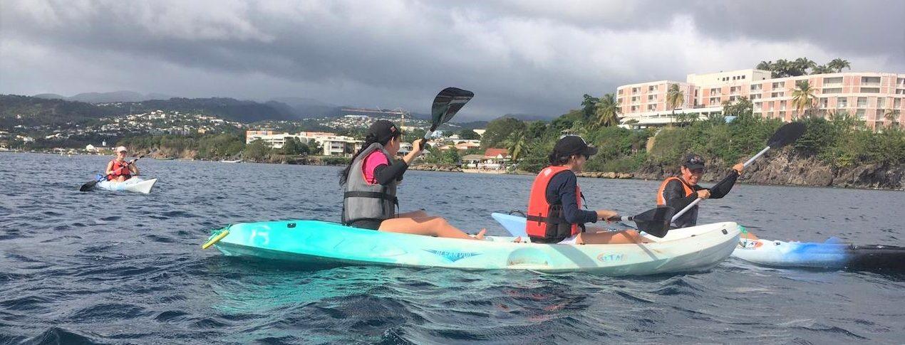 Semaine d'intégration – Initiation au Kayak